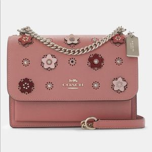 COACH Klare crossbody with Daisy applique